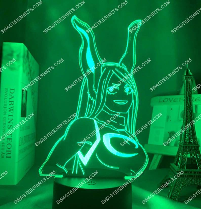 Rumi usagiyama my hero academia anime 3d night light led 6(1)