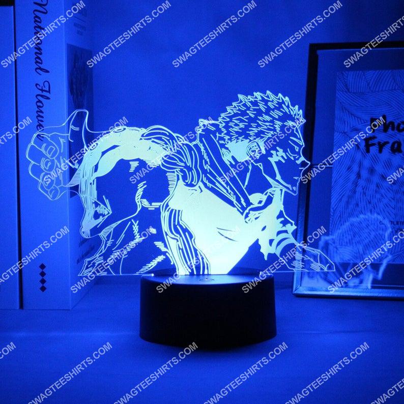 Satoru gojo jujutsu kaisen anime 3d night light led 5(1)