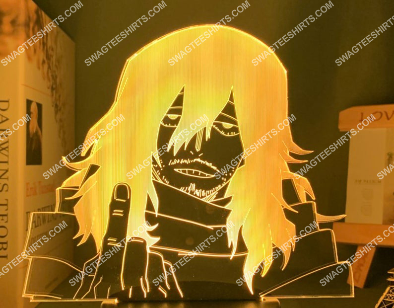Shota aizawa my hero academia anime 3d night light led 2(1)
