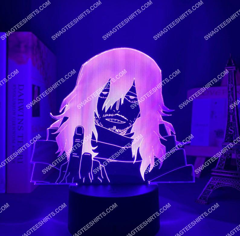 Shota aizawa my hero academia anime 3d night light led 3(1)