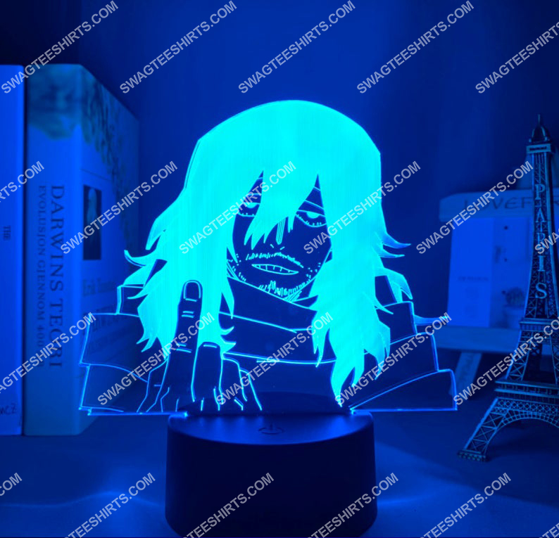 Shota aizawa my hero academia anime 3d night light led 4(1)