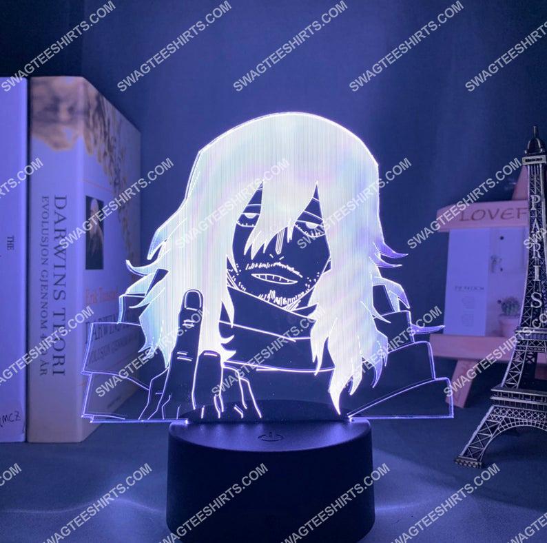 Shota aizawa my hero academia anime 3d night light led 5(1)