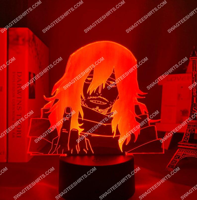 Shota aizawa my hero academia anime 3d night light led 8(1)