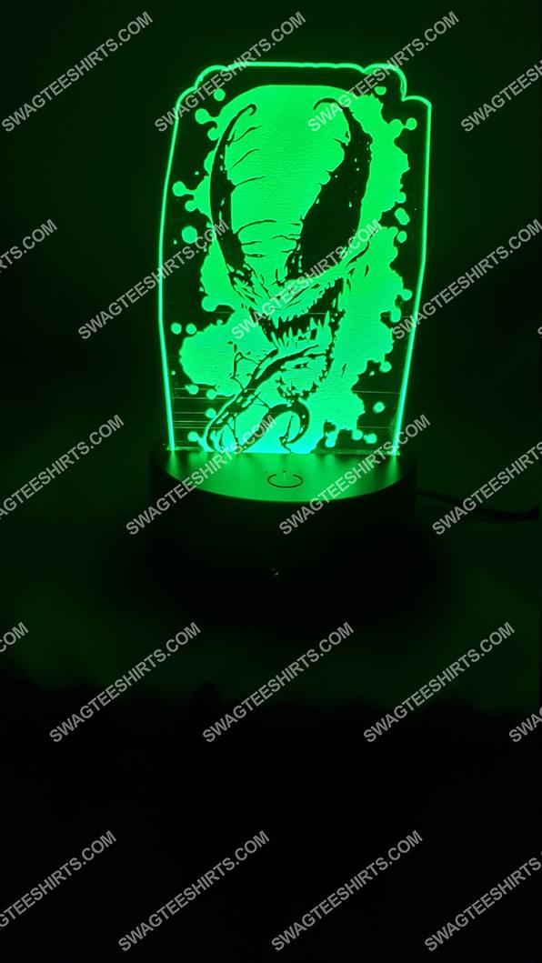 Spider-man venom marvel comics character 3d night light led 3(1)
