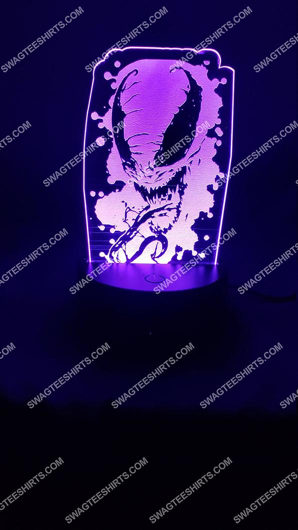 Spider-man venom marvel comics character 3d night light led 5(1)
