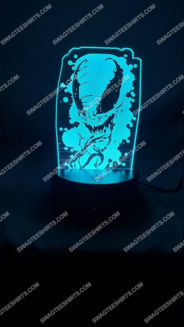 Spider-man venom marvel comics character 3d night light led 6(1)