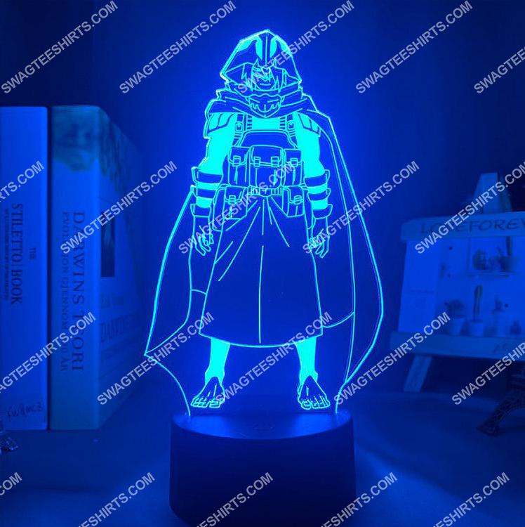 Tamaki amajiki my hero academia anime 3d night light led 2(1)