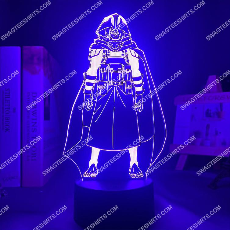 Tamaki amajiki my hero academia anime 3d night light led 3(1)