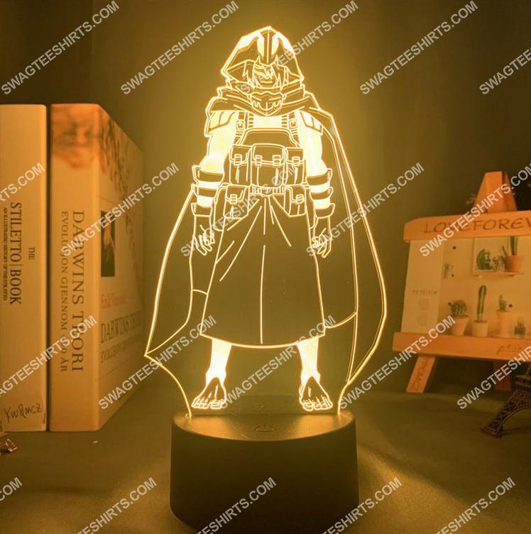 Tamaki amajiki my hero academia anime 3d night light led 6(1)