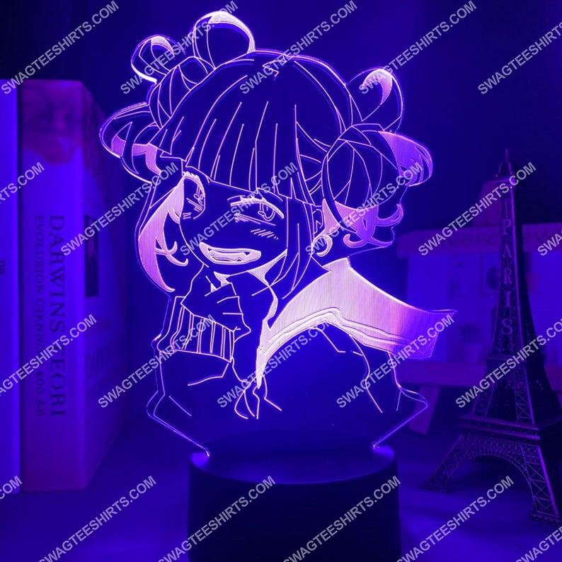Toga himiko my hero academia anime 3d night light led 2(1)