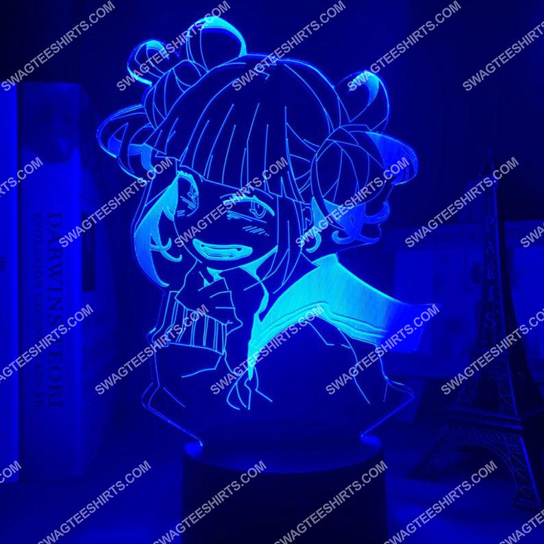 Toga himiko my hero academia anime 3d night light led 4(1)