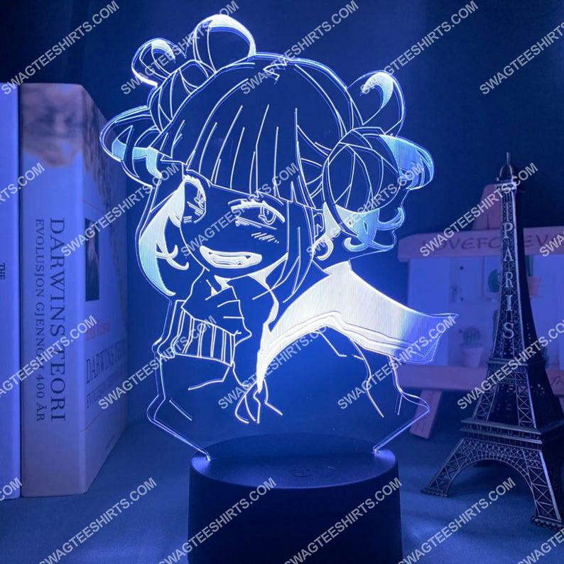 Toga himiko my hero academia anime 3d night light led 5(1)