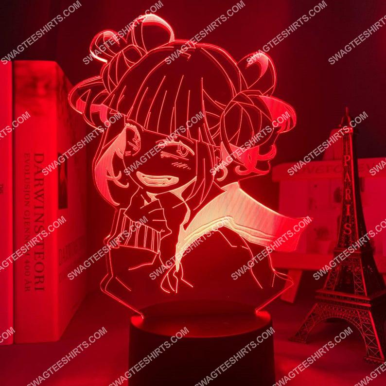 Toga himiko my hero academia anime 3d night light led 6(1)
