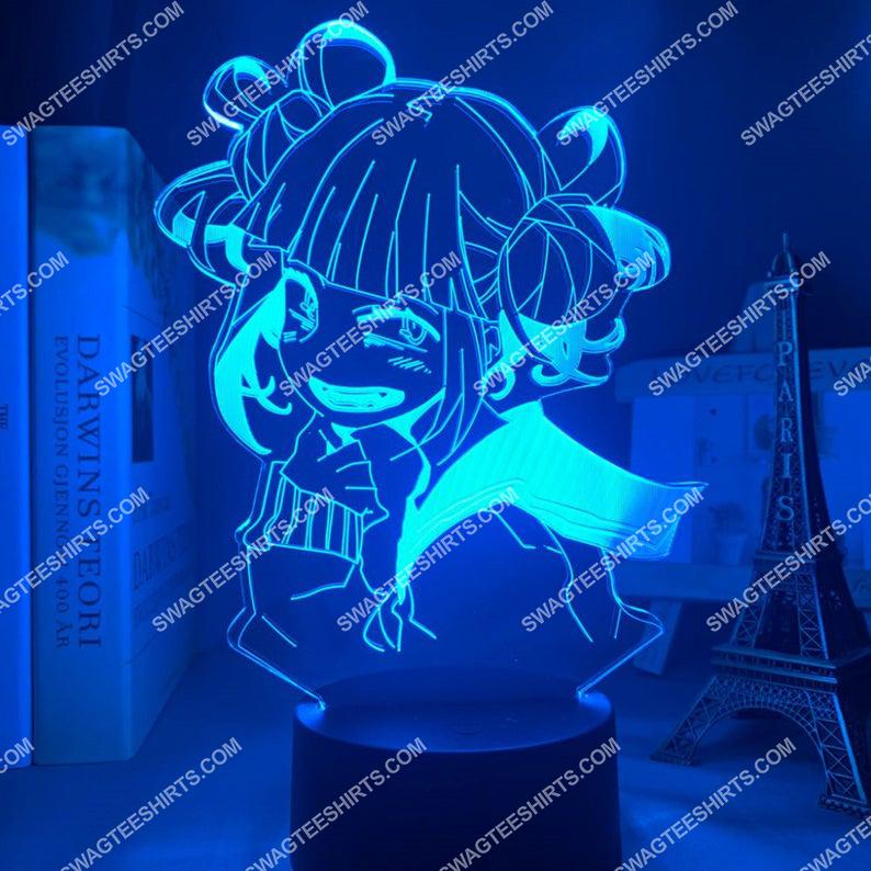 Toga himiko my hero academia anime 3d night light led 7(1)
