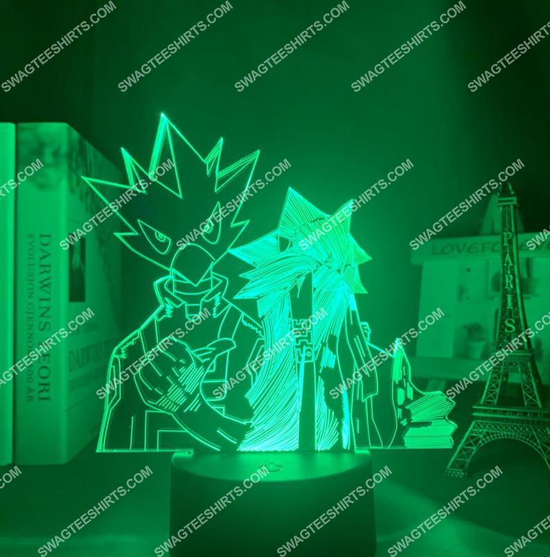Tokoyami fumikage different styles my hero academia anime 3d night light led 3(1)