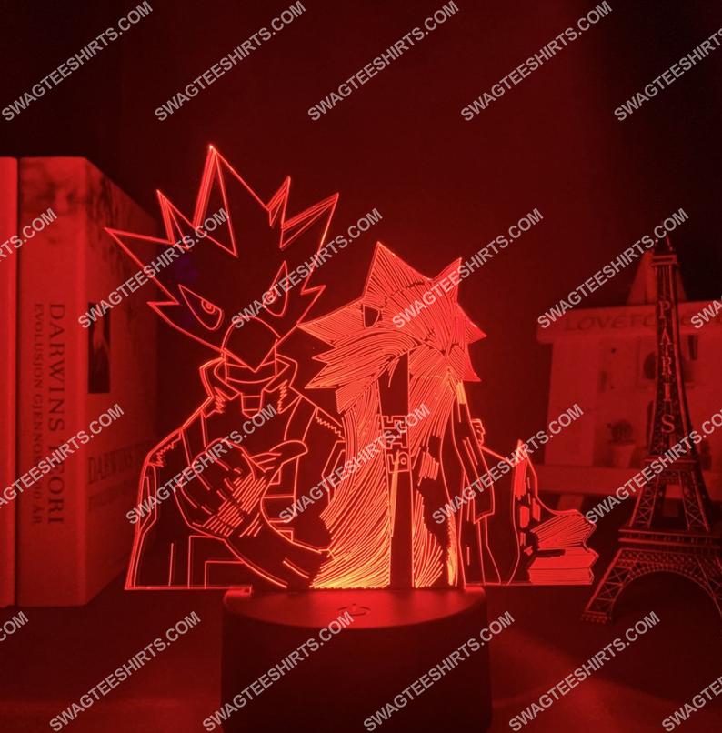Tokoyami fumikage different styles my hero academia anime 3d night light led 5(1)