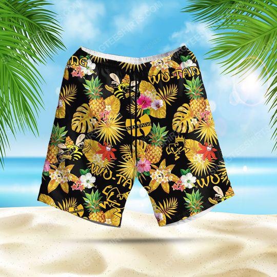 Tropical american hip hop wu tang clan summer party beach short 1 - Copy