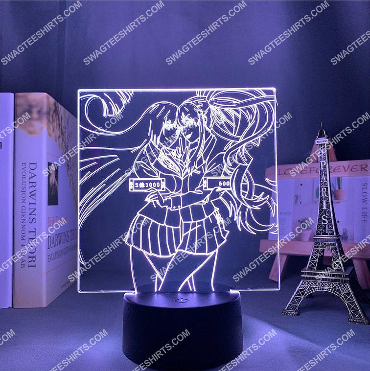 kakegurui anime 3d night light led 2(1)