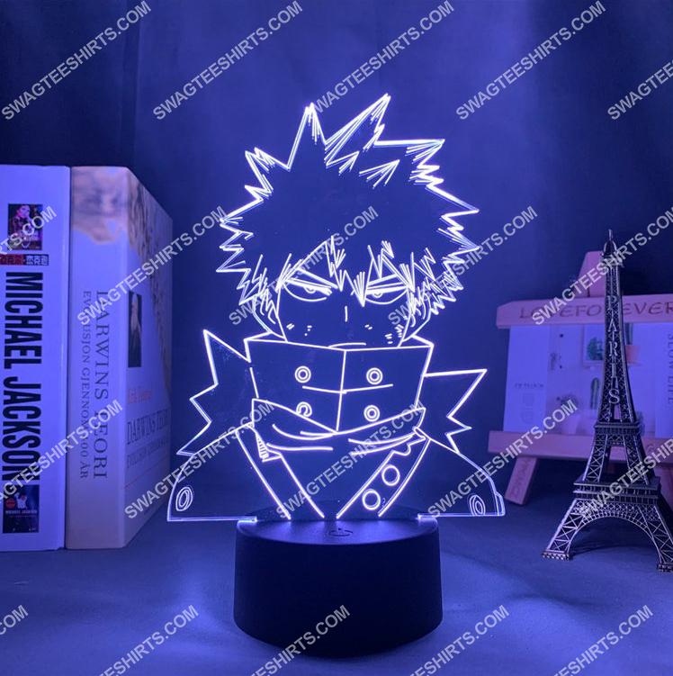 my hero academia katsuki bakugo anime 3d night light led 7(1)