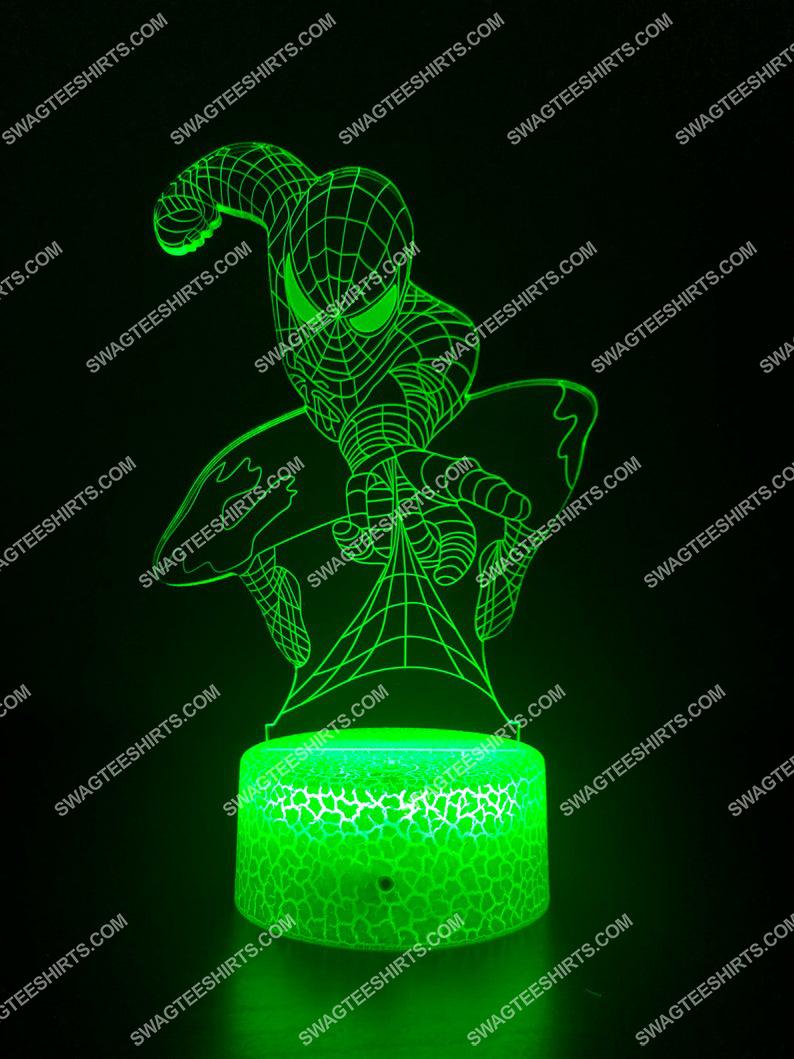 spider man marvel 3d night light led 2(1)