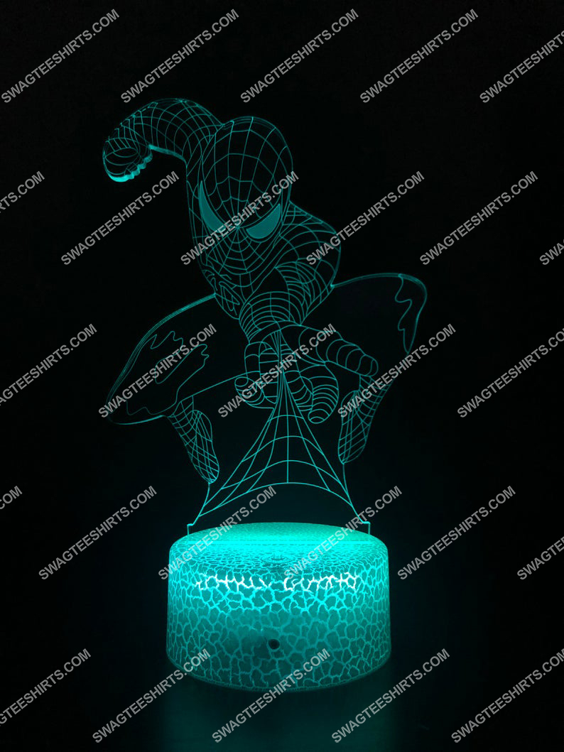 spider man marvel 3d night light led 4(1)