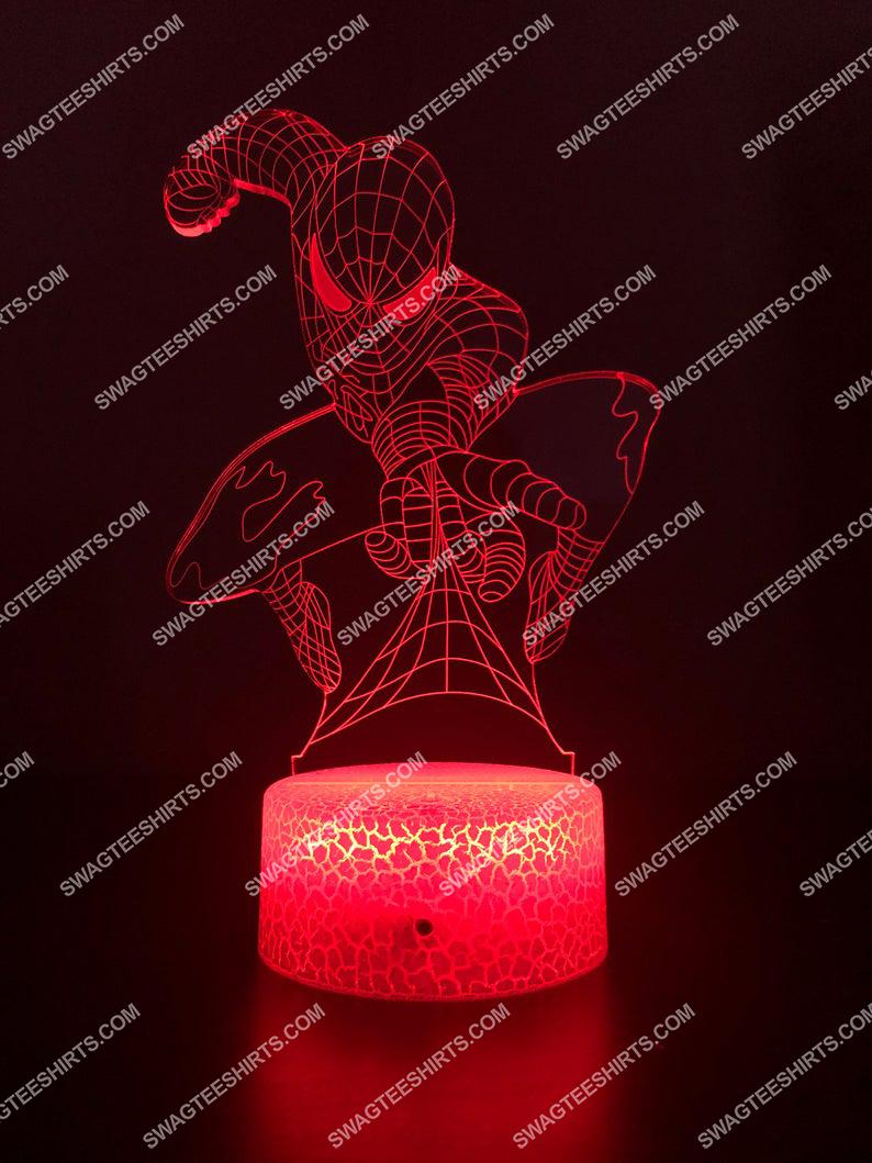 spider man marvel 3d night light led 5(1)