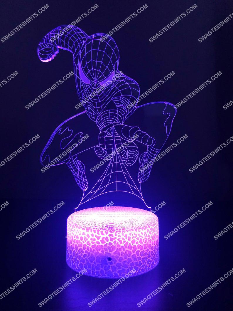 spider man marvel 3d night light led 6(1)