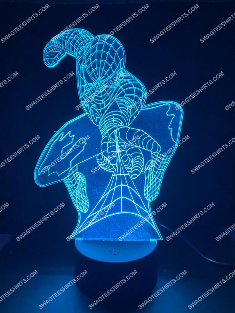spiderman acrylic marvel 3d night light led 7(1)
