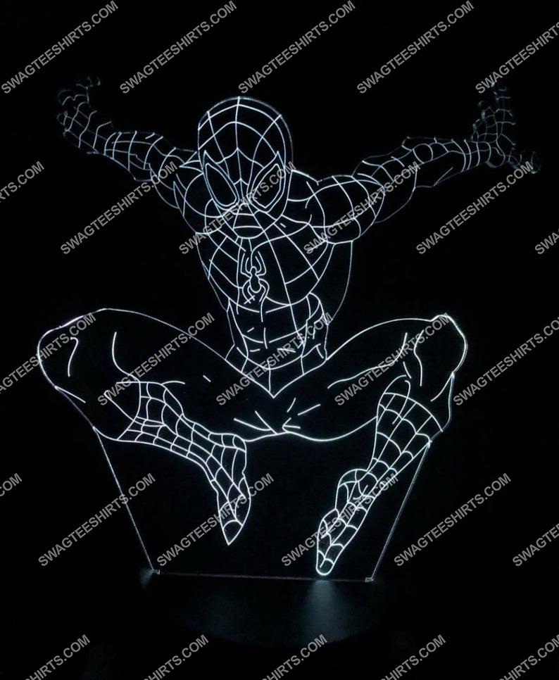 spiderman marvel movie 3d night light led 4(1)