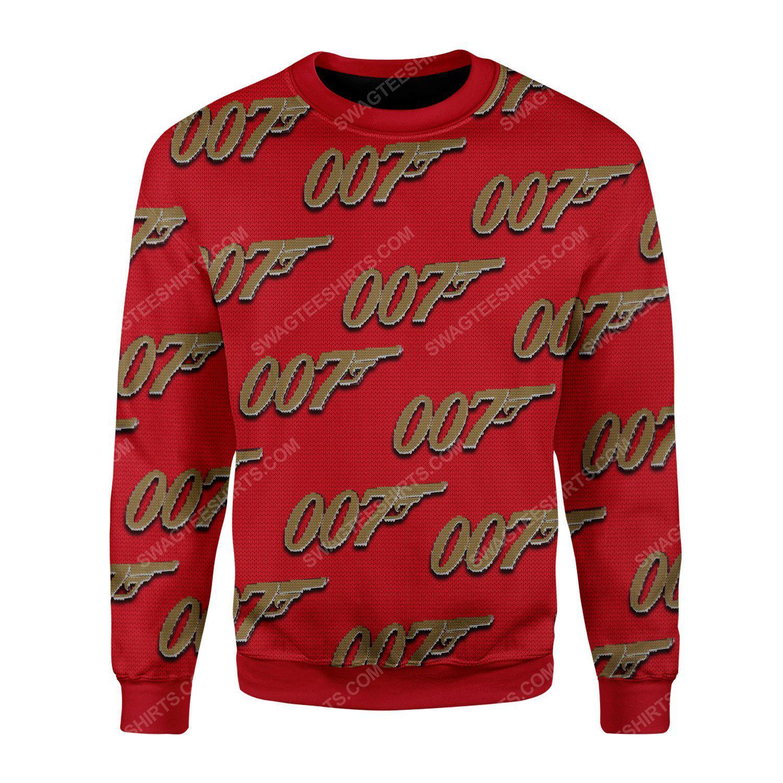 007 james bond ugly christmas sweater 2(1) - Copy