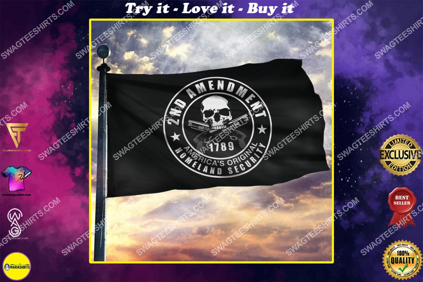2nd amendment america's original homeland security politics flag