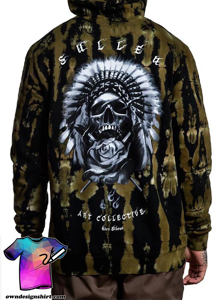 Chief native american full printing hoodie