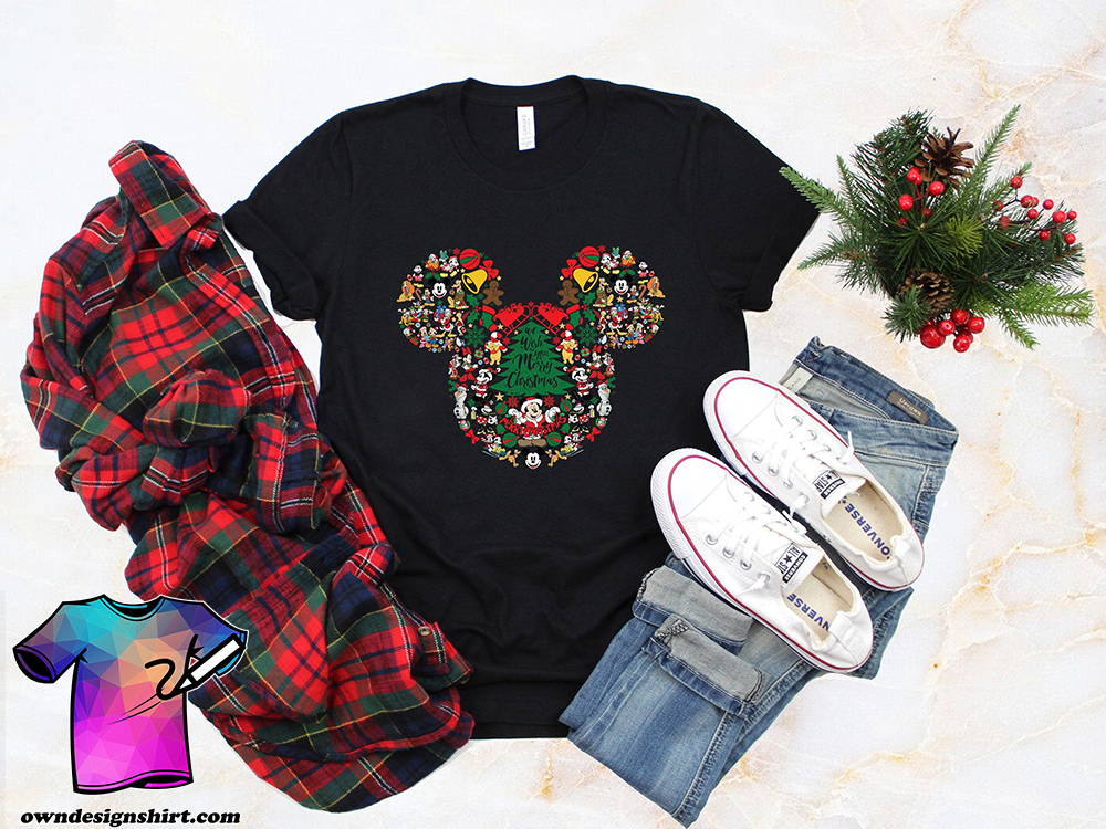 Christmas disney family shirt