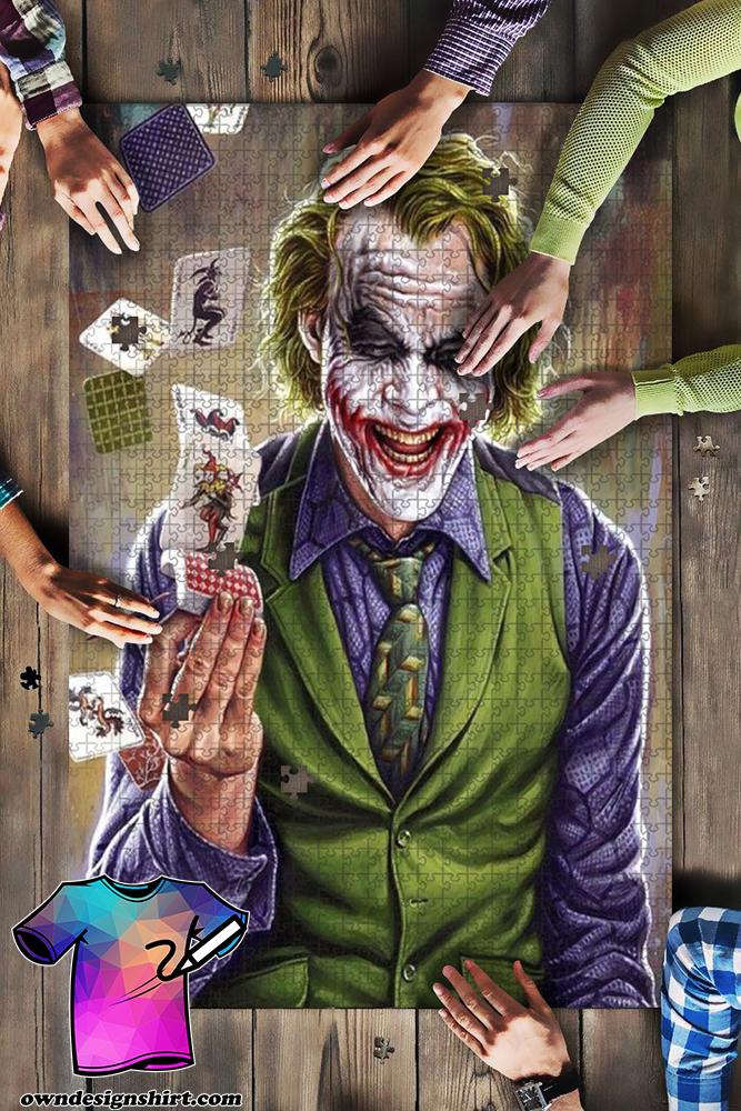 DC comics the joker jigsaw puzzle