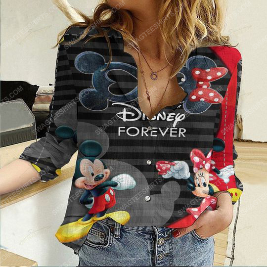 Disney forever fully printed poly cotton casual shirt 2(1) - Copy