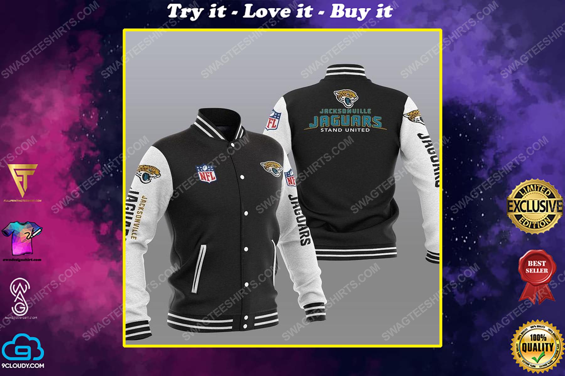 Jacksonville jaguars stand united all over print shirt