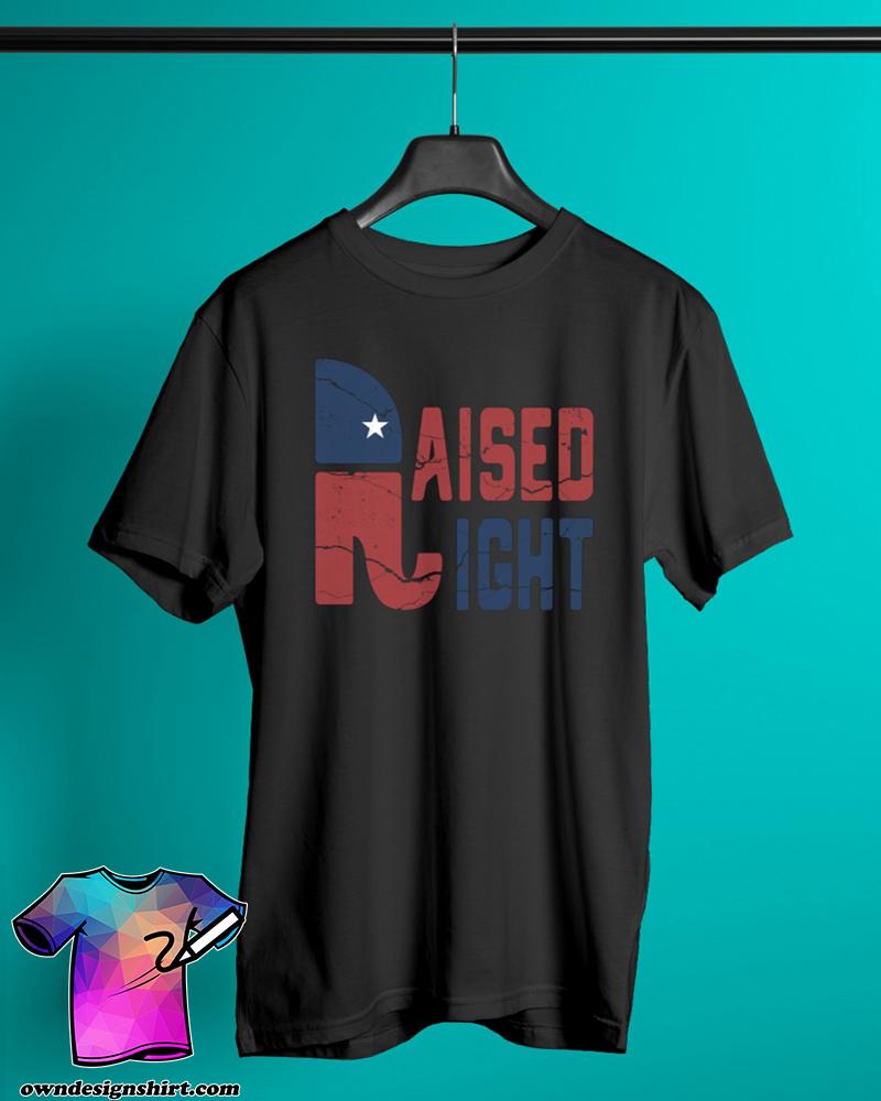 Republican raised right shirt