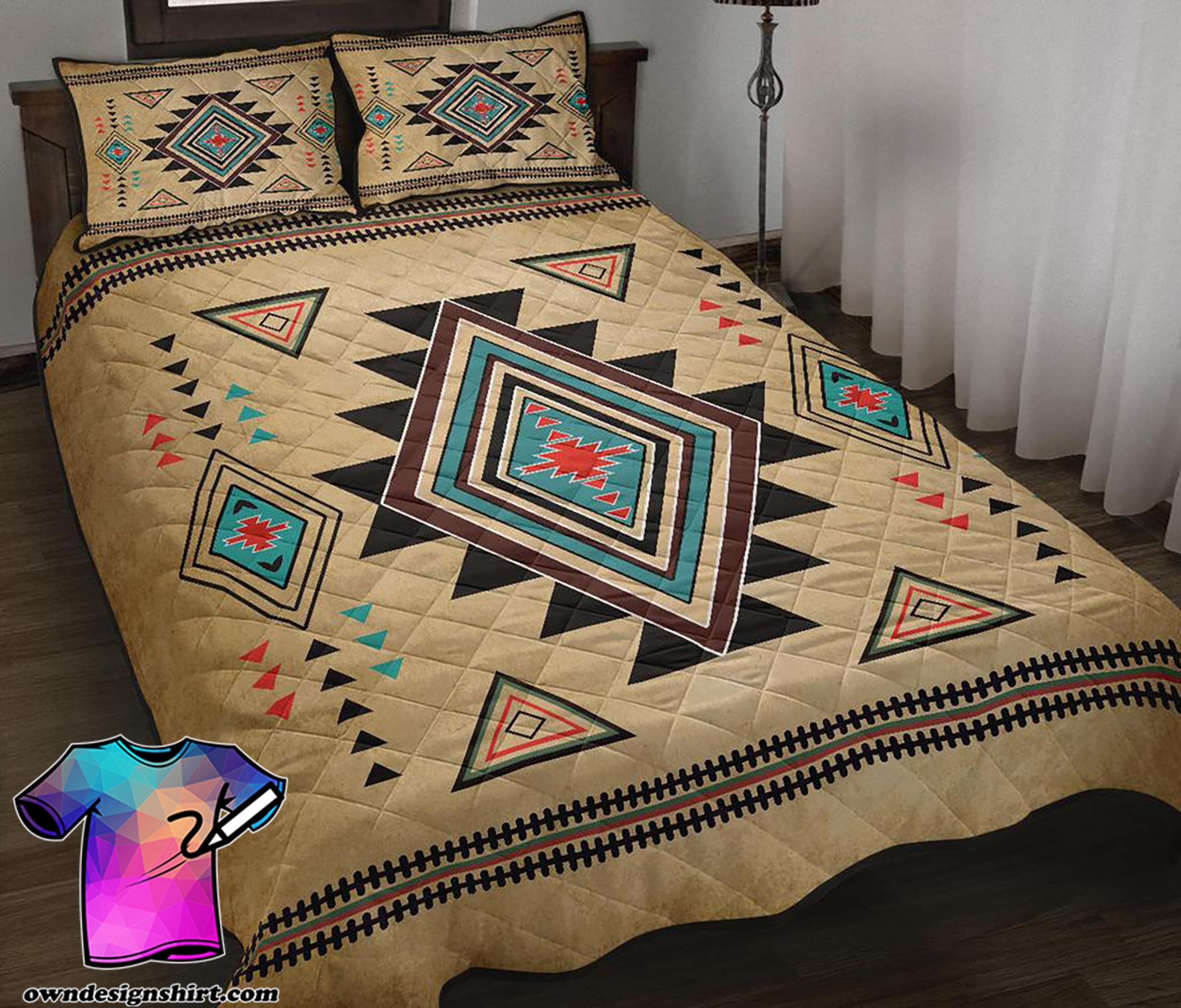 South west native american quilt 1