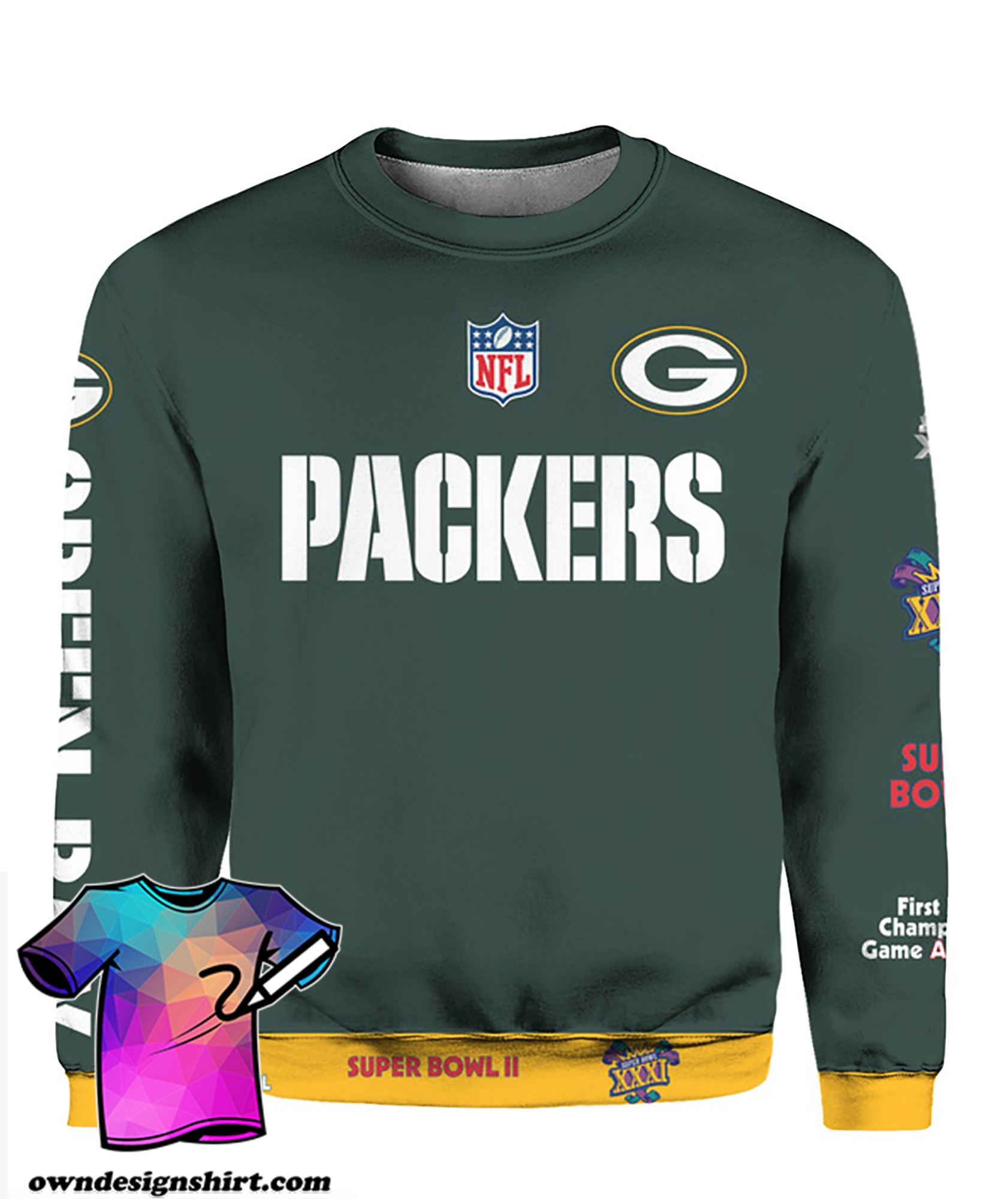 Stand for the flag kneel for the cross green bay packers all over print shirt