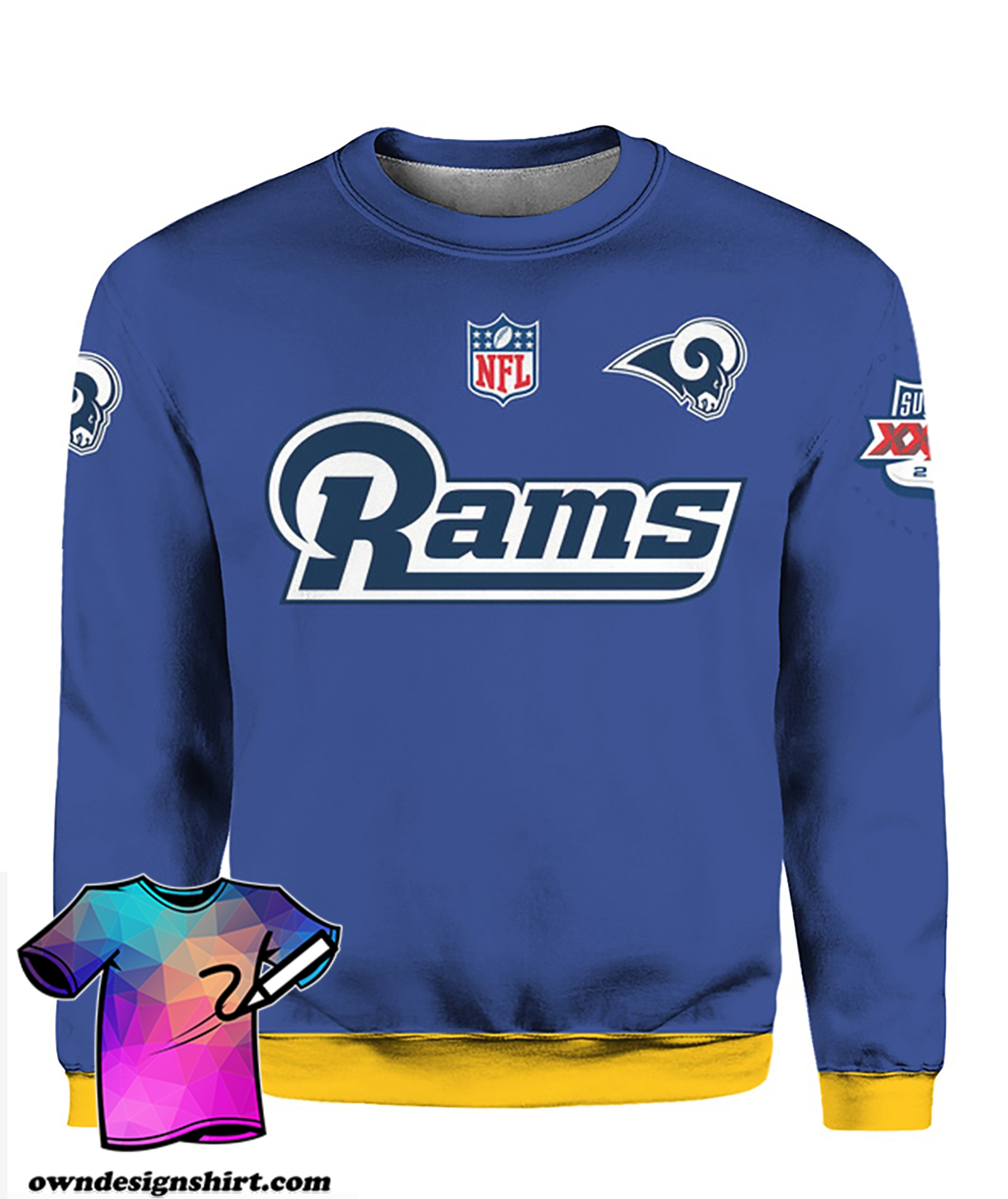Stand for the flag kneel for the cross los angeles rams all over print shirt