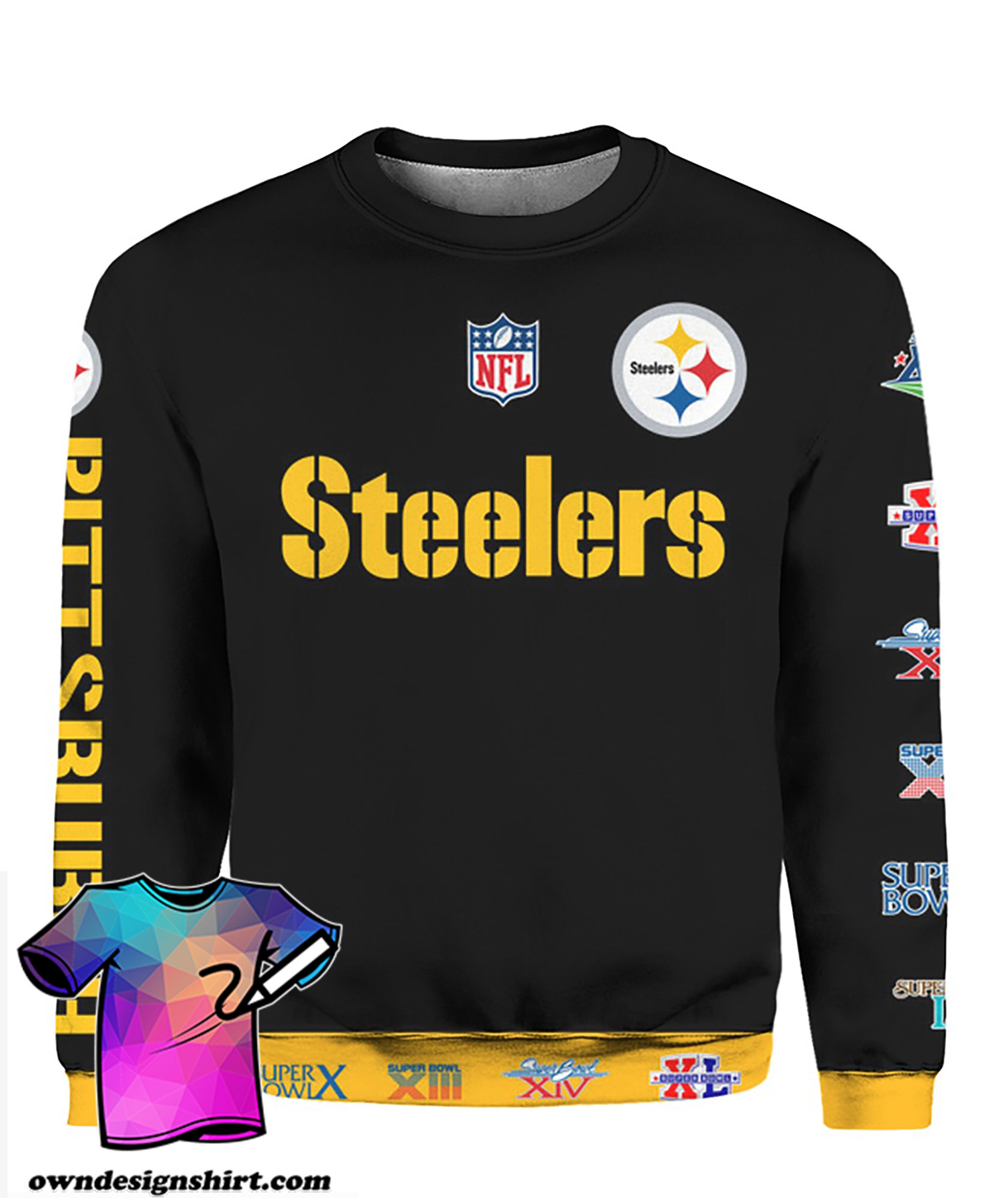 Stand for the flag kneel for the cross pittsburgh steelers all over print shirt
