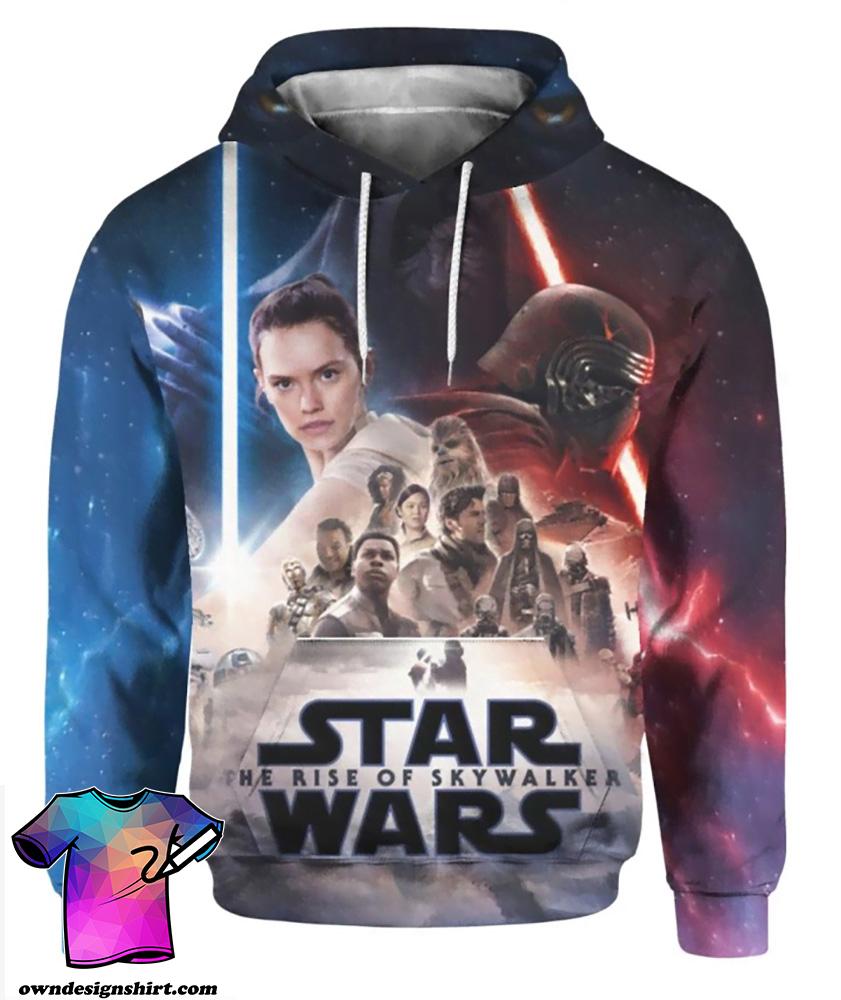 Star wars the rise of skywalker full printing shirt