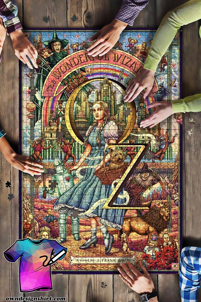 The wonderful wizard of oz jigsaw puzzle