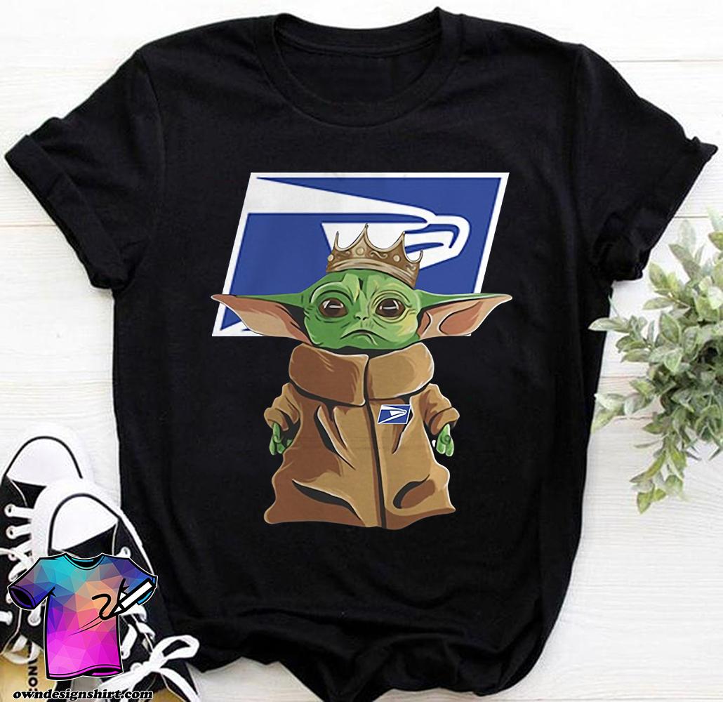 United states postal service baby yoda shirt