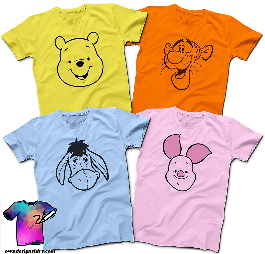 Winnie the pooh and friends shirt