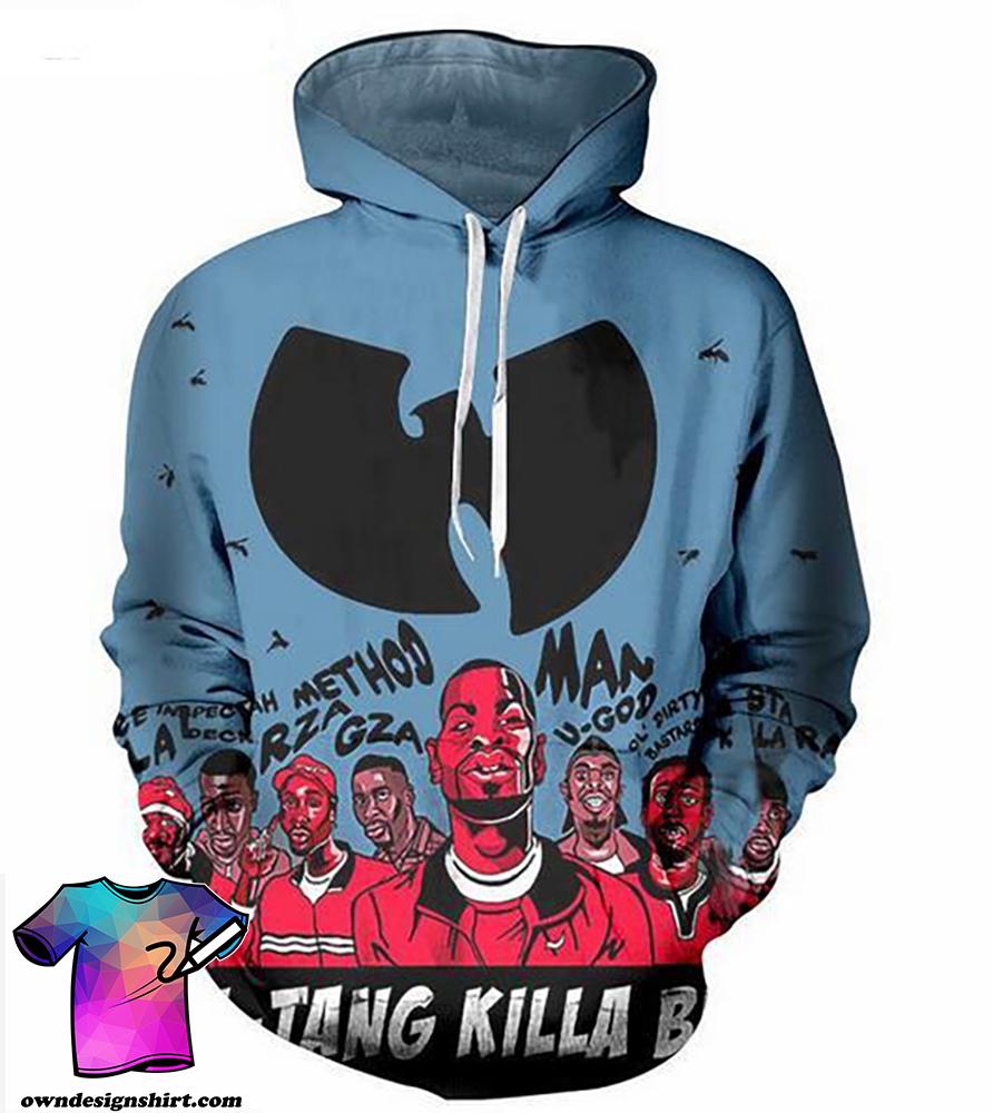 Wu-tang clan hip hop all over print shirt