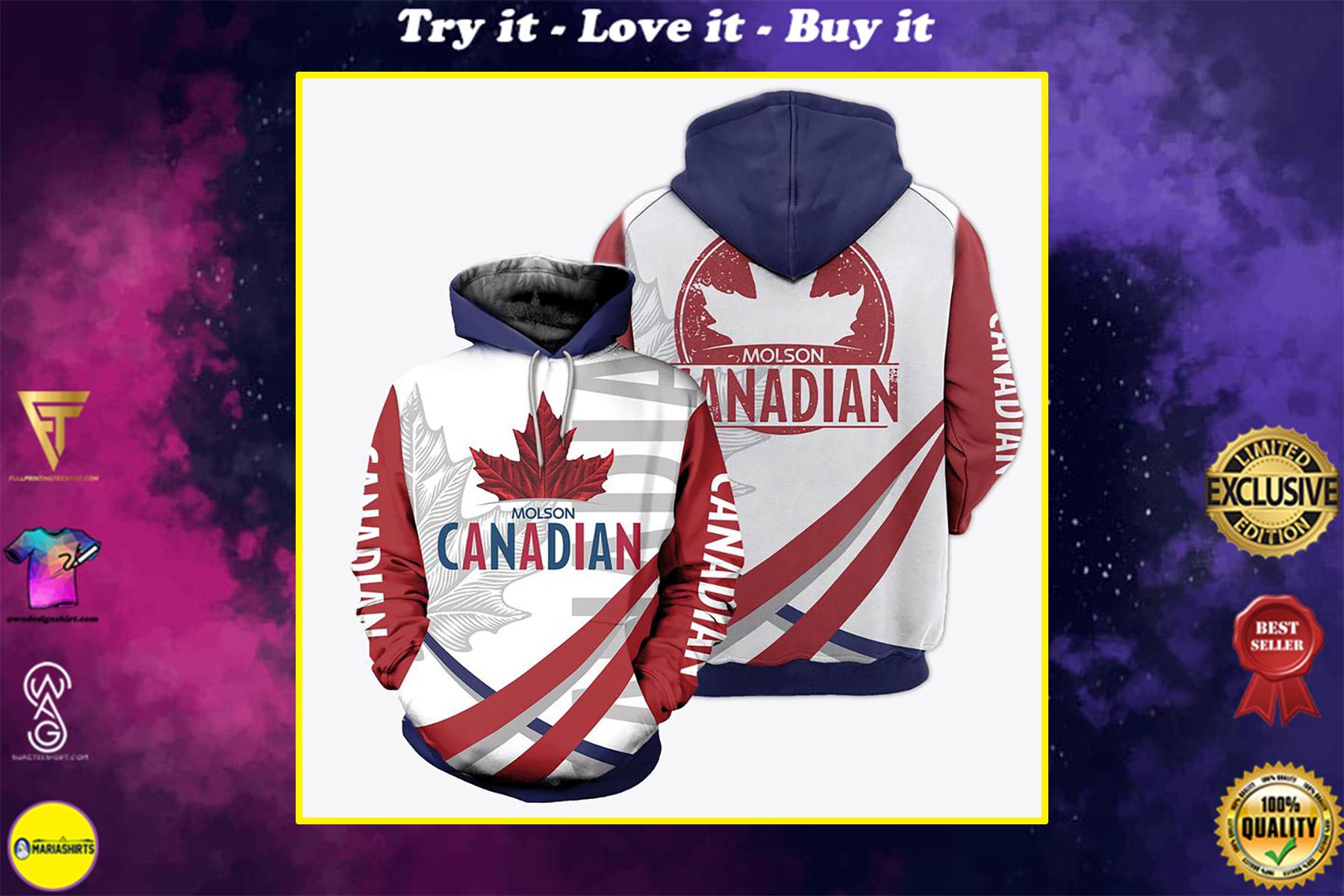 molson canadian sorority full over print shirt