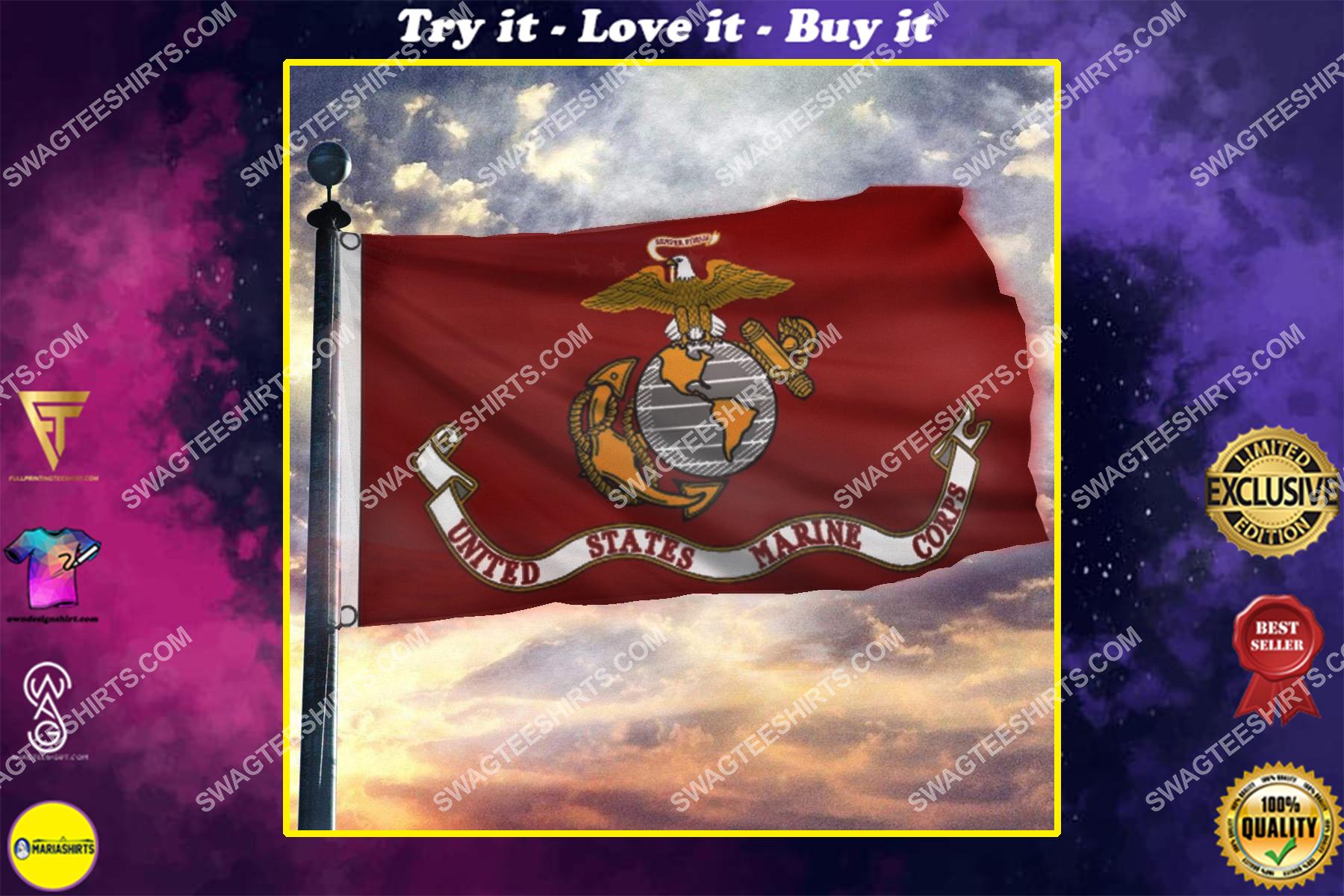 usmc semper fi united states marine corps memorial day flag