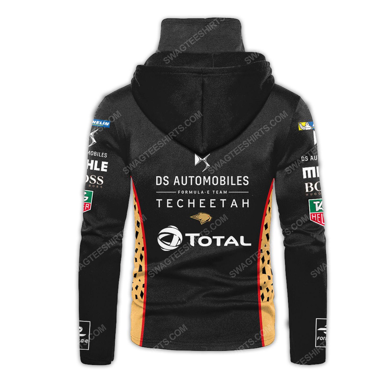 Custom ds automobiles racing team motorsport full printing hoodie mask - back