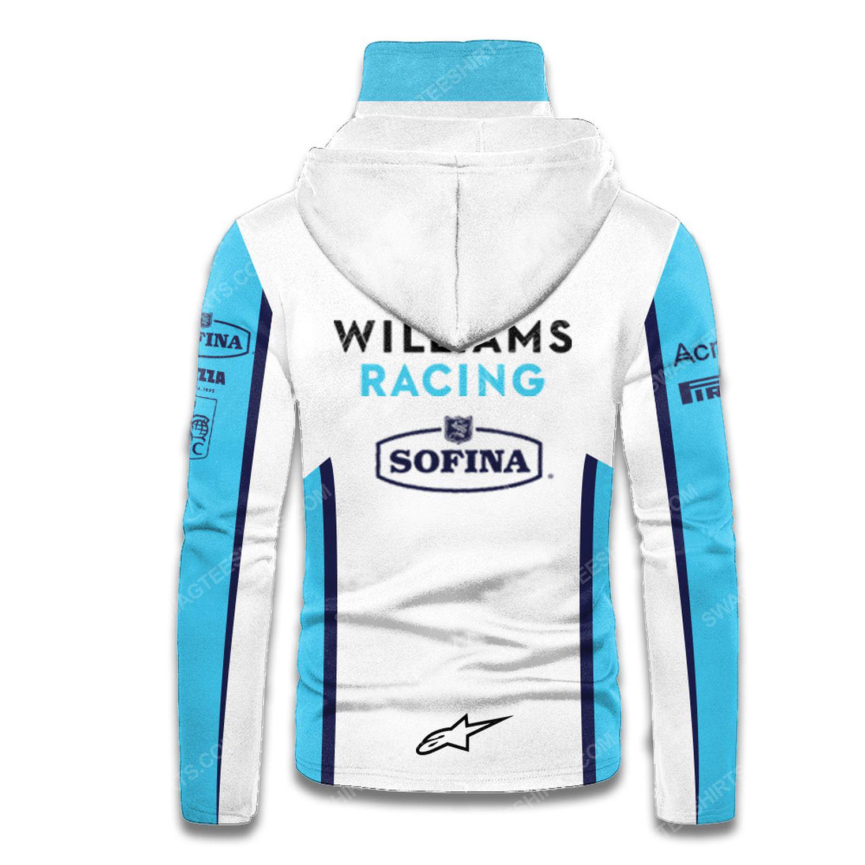 Custom lavazza mercedes racing team motorsport full printing hoodie mask - back